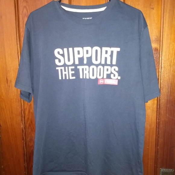 Under Armour Other - UNDER ARMOUR T-SHIRT 👕 Support The Troops XL